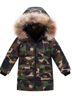 Boy Clothes Down Parkas Baby Boy Jackets