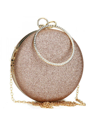 Round Purses And Handbags Crossbody Party Shoulder Bags