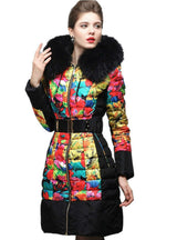 Down Coats Royal Cat Jacket Fur 3D Print