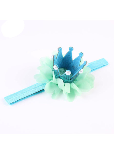 1PC Lovely Kid Girl Newborn Crown Headband Princess