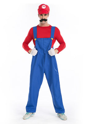 Halloween Role-Playing Plumber's Trousers