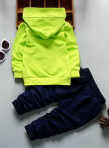 Baby Clothing Kids Hooded T-shirt And Pants