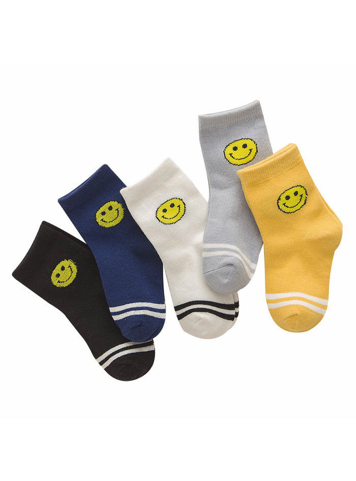 Cute Cartoon Pattern Kids Socks For Baby Boy