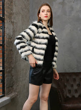 Women Like Fur Coat Long Sleeve Short Fur