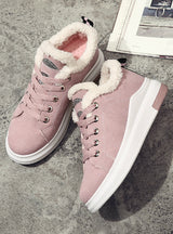Winter Warm Sneakers Shoes Platform Shoes
