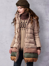 Down Jacket Winter Long Parka Female Warm Outerwear