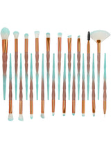 20Pcs Makeup Brushes Set Powder Eye Shadow Foundation