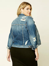 Women Coats Long Sleeve Denim Jackets Outwear
