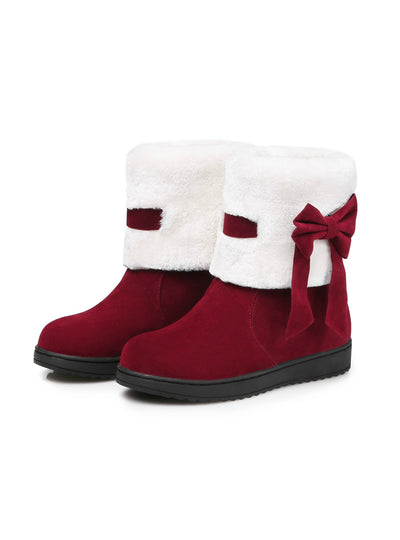 Women's Winter Snow Boots Woman Platform Ankle Boot