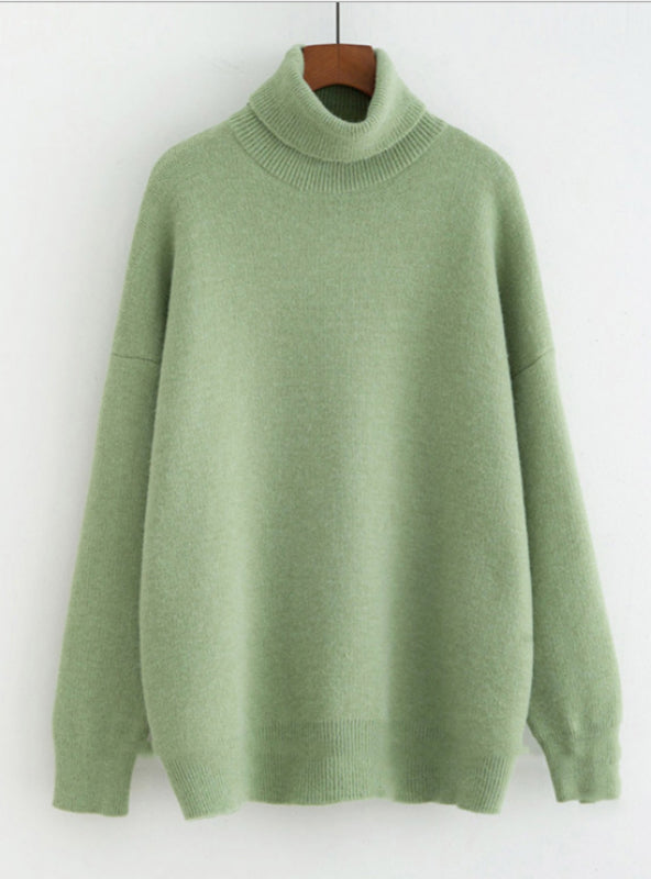 Thick Warm Pullover Cashmere Jumper Soft Knitwear Sweater