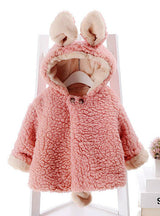 Winter Coat Faux Fur Jackets For Girls