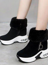 Women Ankle Boot Warm Plush Winter Shoes