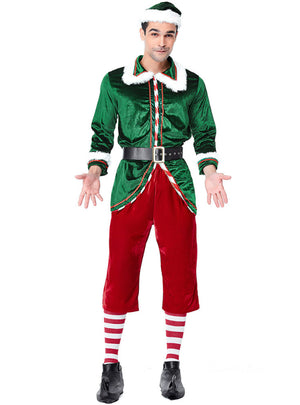 Christmas Lovers Dress Green Christmas Elves