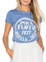 Short Sleeve T-shirt Casual Letters Print O-neck