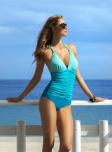 One Piece Swimsuit Plus Size Swimwear Women