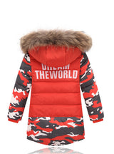 Baby Outerwear Down Jacket Boys Winter Coats