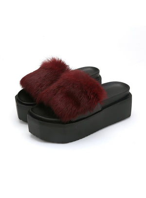 Warm Cute House Slippers Women Indoor