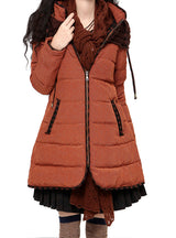 Winter Down Jacket Women Thick Parka With Hood