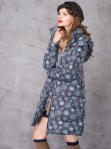 Women's Down Coat Long Warm Parka With Natural Fur