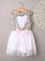 Baby Girl Dress Clothing Sequins Party Gown Mini Ball