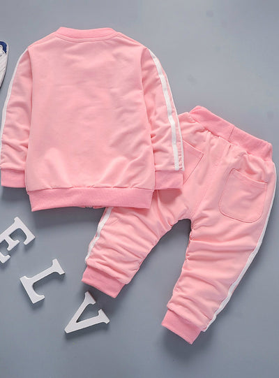 Baby Boys Girls Cotton Jacket Pants 2pcs/sets