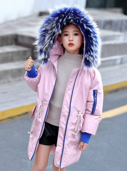 Girl's Wear Cotton Coat Children's Cotton