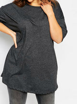 O-Neck Slim Basic T-shirt Short Sleeve Shirt