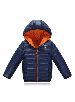 Winter Jacket Brand Hooded Kids Winter Coat