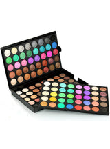 120 Colors Eyeshadow Palette Makeup Eyes