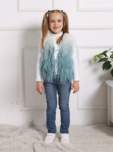Imitation Fur Vest Children's Plush Coat