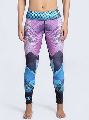 Printed Slim Legging Workout Clothes Sportswear