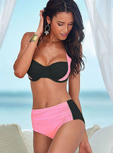 Swimsuit High Waisted Bathing Suits Swim Halter