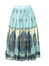 Byzantine Style High-end Chiffon Skirt Fashion Mid-Calf