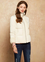Women's Down Coat Female Parka White Outerwear
