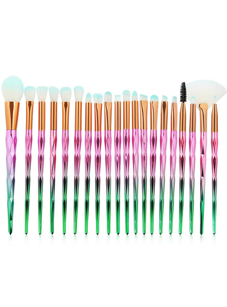 20Pcs Cosmetic Beauty Soft Make Up Brush Tool