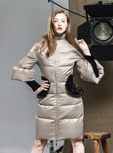 Down Jacket Women's Coat Outerwear Female