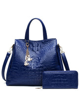 Two Set Purse and Handbags Butterfly Tassel Leisure