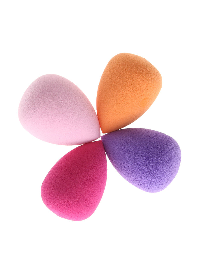 4Pcs Mini Waterdrop Makeup Foundation Sponge