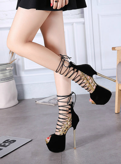 Women Pumps High Heels Sandals Platform Sandals