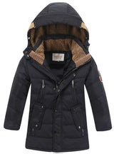 Children's Winter Jackets Duck Down Padded