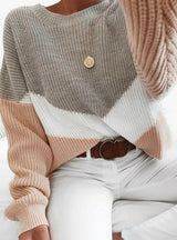 Loose Knitted Sweater Women Jumpers Long Sleeve
