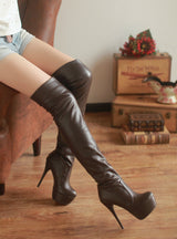Over the Knee long Boots Thin High Heel Boots