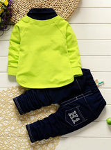 Boys Long shirt + pants Sweatshirt Clothes
