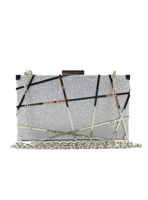 Gold Evening Bag Women Party Banquet Glitter Bag