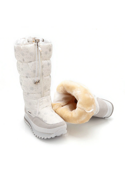 Winter Boots High Women Snow Boots Plush Warm Shoes