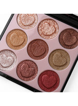 9 Colors Intense Crystal Diamond Cream Eyeshadow