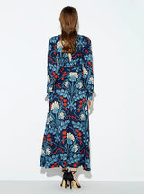 Casual Floral Printed Female Maxi Dress