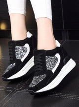Sneakers Wedges Female Flats Creepers Platform