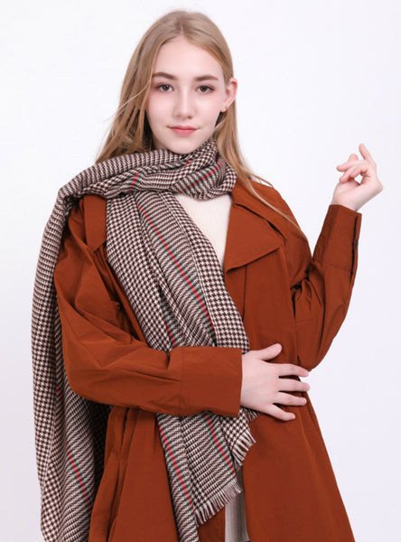 Thousand Bird Scarf Warm Cashmere Scarf
