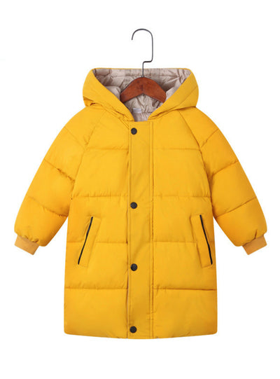 Winter Baby Girls Jackets Child Kids Thick Warm Parkas